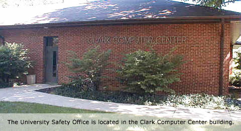 Clark Computer Center - University Safety