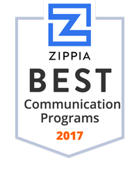 Zippia best communication programs 2017