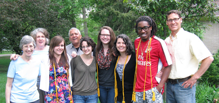 Modern Languages faculty and students