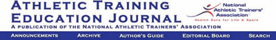 Athletic Training Education Journal