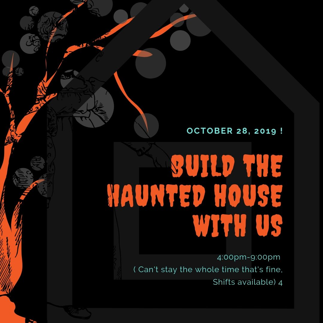 Build the haunte dhouse