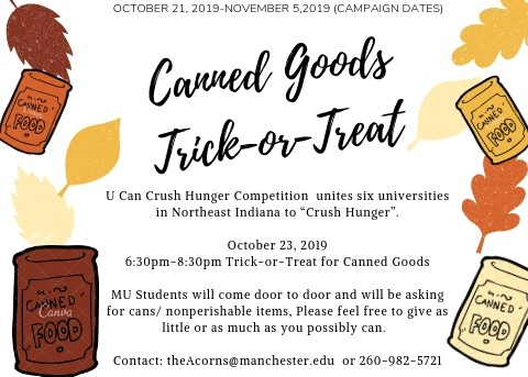 Trick or Treat  2019 Crush Hunger