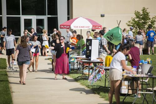 Fall Involvement Fair 2018