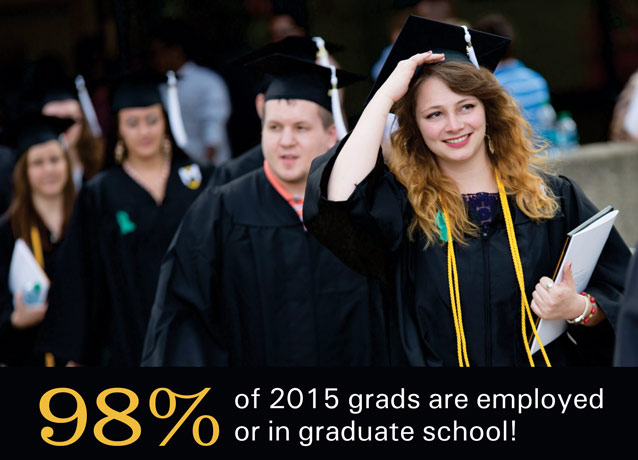 98% success rate for 2015 grads