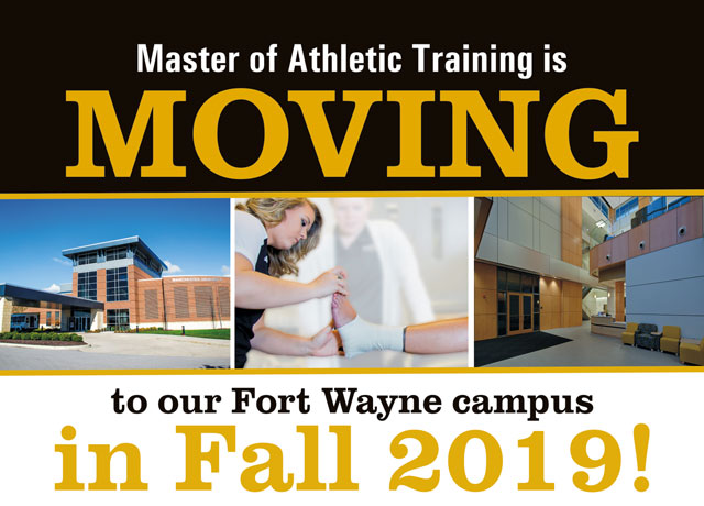 Athletic training moving to Fort Wayne