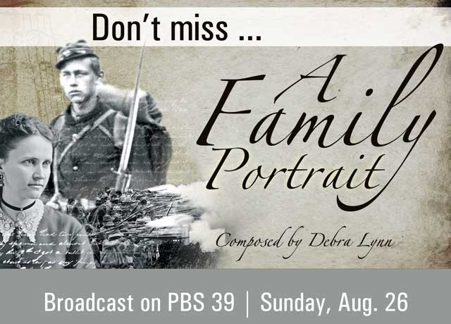 a family portrait on PBS