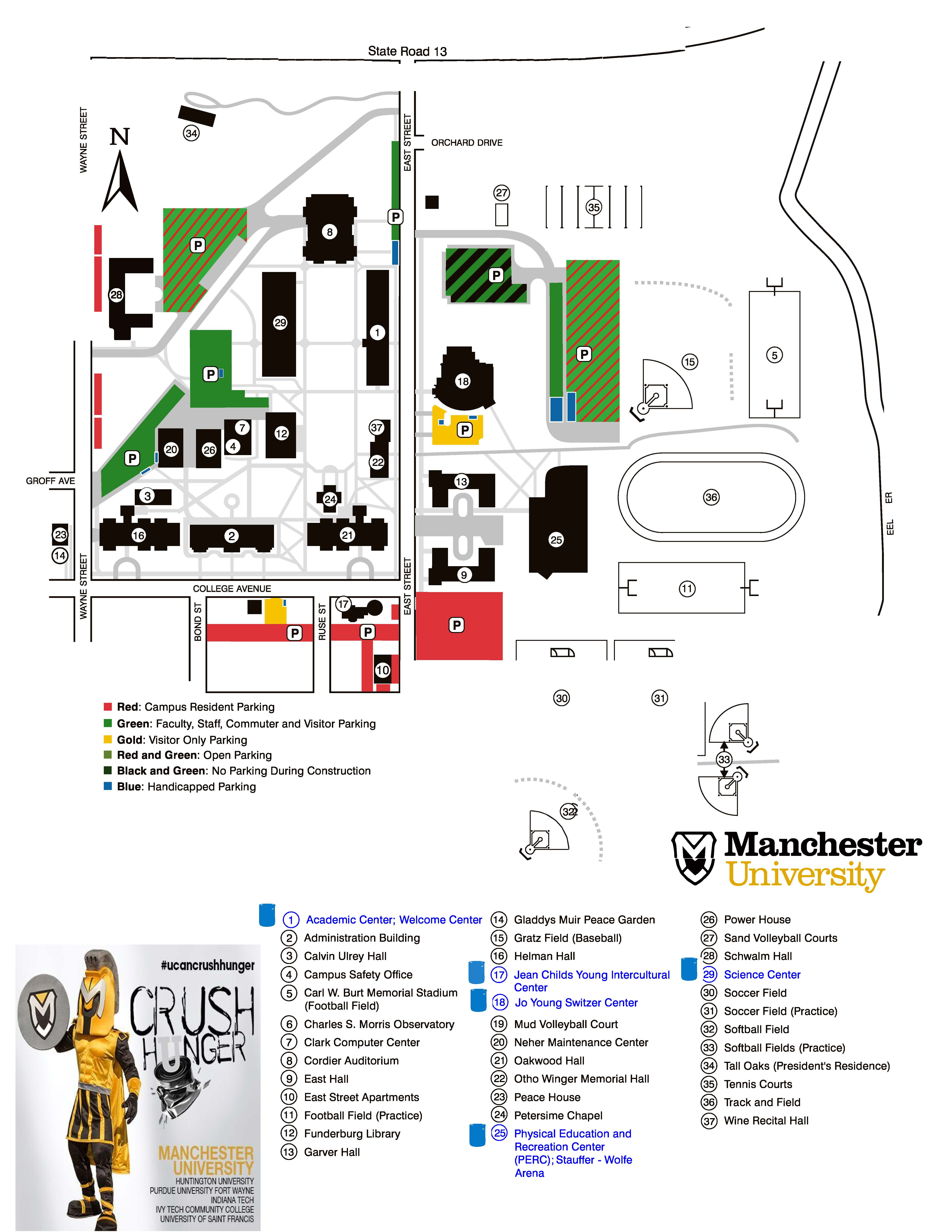 Center for Service - Polar Plunge | Manchester University on indiana university dorm map, indiana university indiana map, indiana university collins hall campus map, indiana university dormitory map, indiana university union street map,