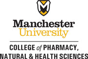 College of Pharmacy, Natural and Health Sciences logo- Medial Vertical
