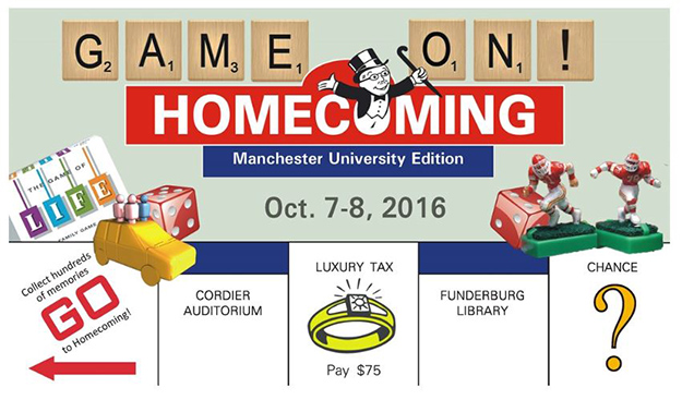 Game On! for Homecoming 2016