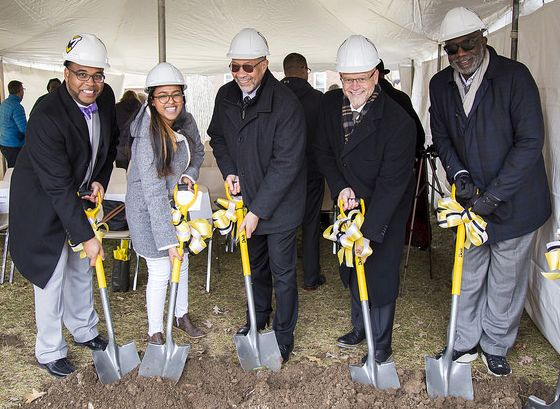 Intercultural Center Groundbreaking 2018