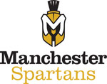 Manchester Spartans, 2 color- over white