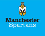 Manchester Spartans logo, 4 colors