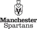 Manchester Spartans logo- black only