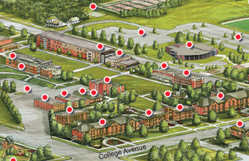 North Manchester Campus Map