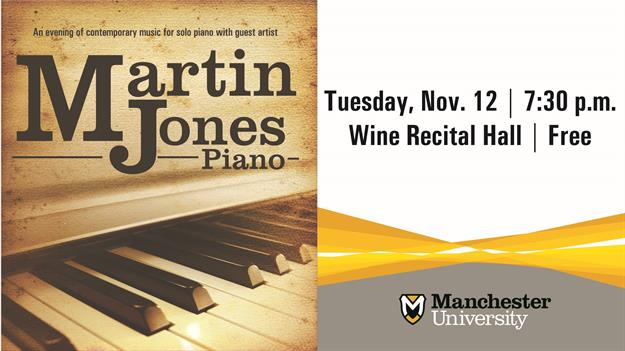 Martin Jones Recital
