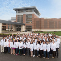 Pharmacy students Fort Wayne Campus