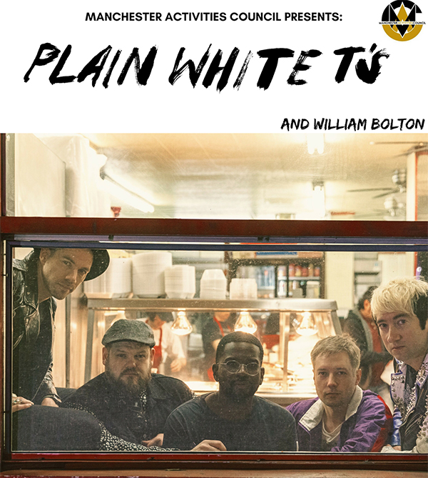The Plain white t's poster with opener