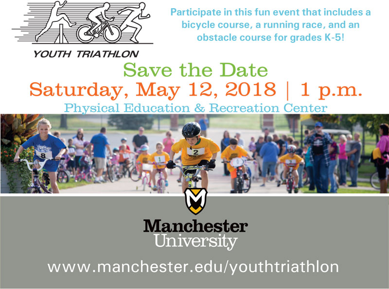 Youth Triathlon Save the Date 2018