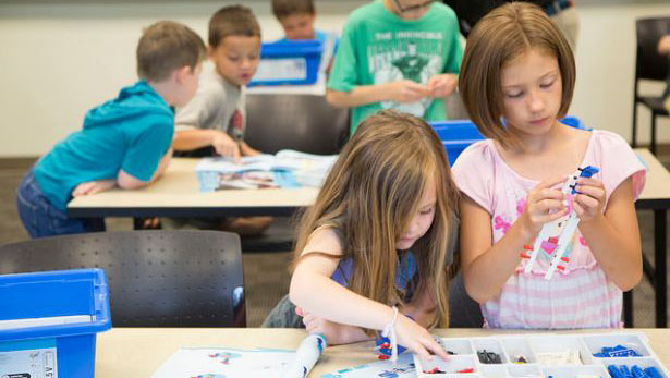 LEGO camp 2015 at Manchester University
