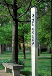 MU Peace Pole: May Peace Prevail on Earth