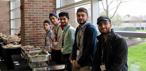 Kurdish Students representing their food and culture
