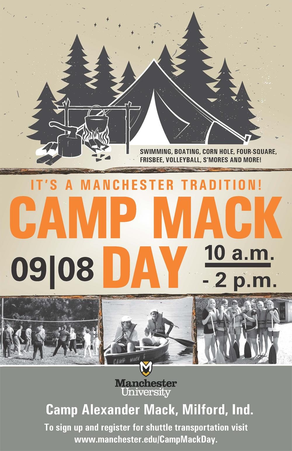 camp mack day poster