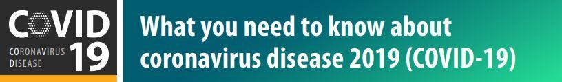 Medical alert - Coronavirus