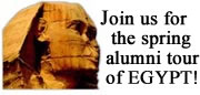 Join the alumni tour to Egypt!
